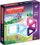 Magformers 14 Pastelle set