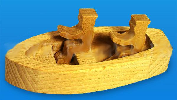 Лодочка из дерева