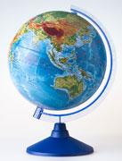 GLOBEN Глобус Земли физический 250 серия Евро