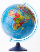 GLOBEN Глобус Земли политический рельефный 320 серия Евро