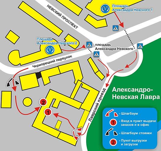 Карта санкт-петербурга спб