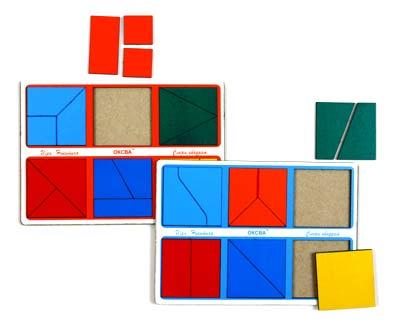 ОКСВА Сложи квадрат-1 - игра Никитина (от 2 лет) (ОКСВА)