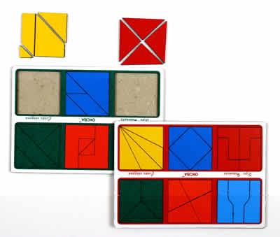 ОКСВА Сложи квадрат-2 - игра Никитина (от 3 лет) (ОКСВА)
