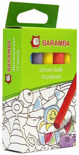 Baramba Мелки цветные, 10 цветов